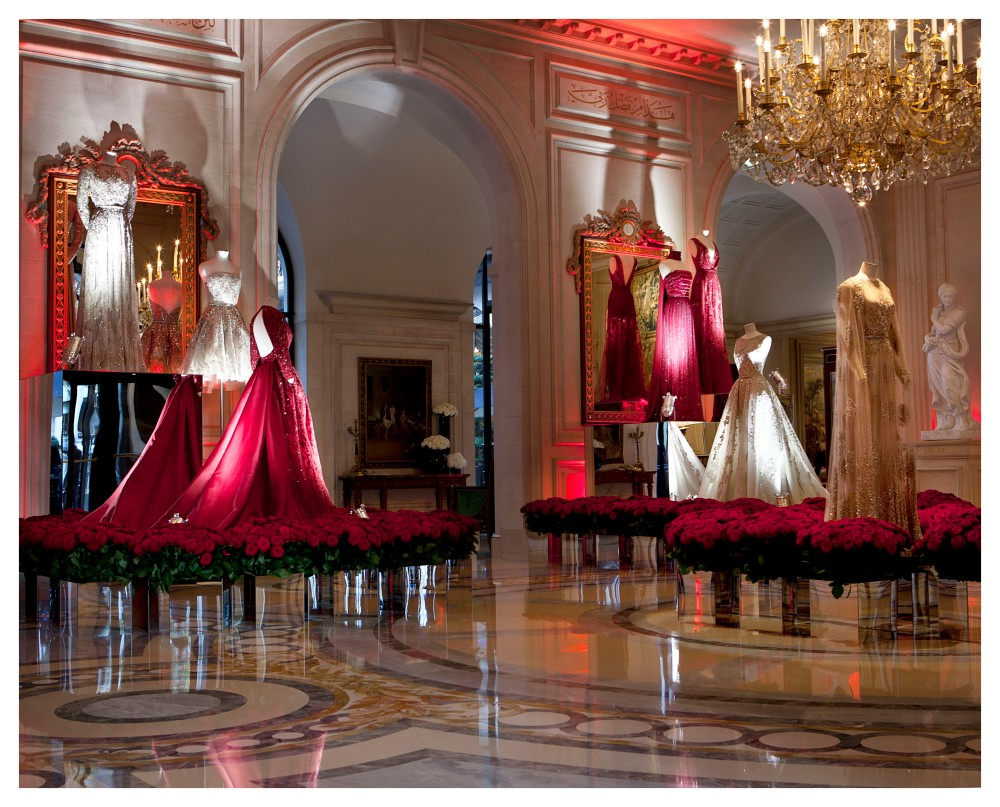 EXPOSITION ELIE SAAB - HOTEL FOUR SEASONS GEORGE V