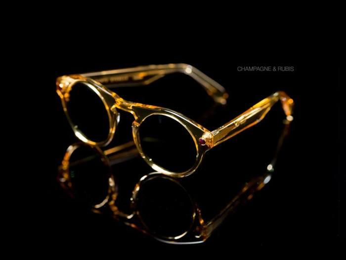 PYRAMYD EYEWEAR Eyewear Champagne - rubis