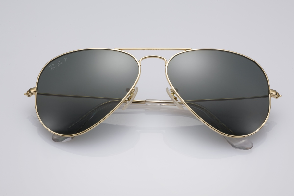RAY-BAN Aviator Solid Gold Édition Limitée