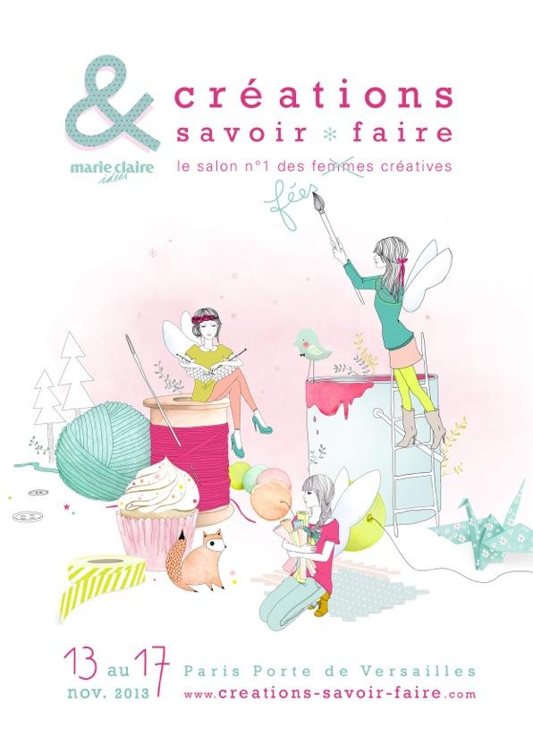 Affiche Salon Créations & Savoir-Faire