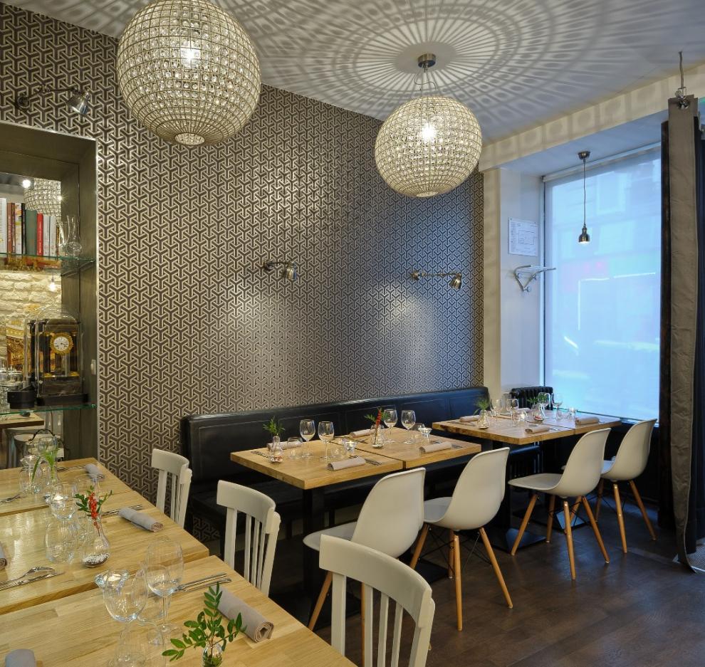 L 39 atelier rodier paris 9 restaurant c saveurs l for Rodier interieur