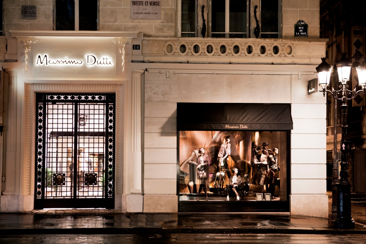 Massimo Dutti ouvre ses portes Rue de la Paix