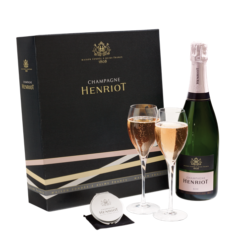 Champagne Henriot - Coffret miroir