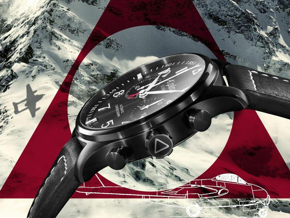 Alpina - Startimer Pilot Chronographe Black Star