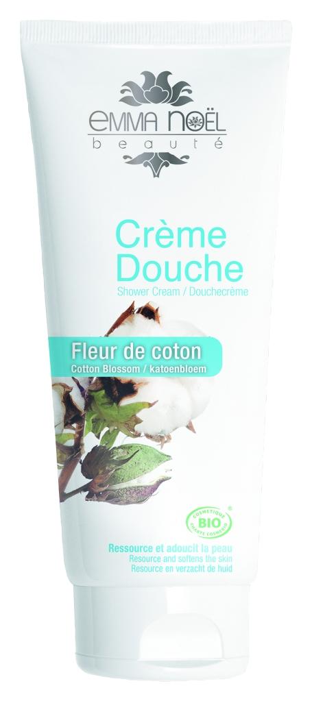 La crème douche « Fleur de coton » n'a d'égal que celle du coton