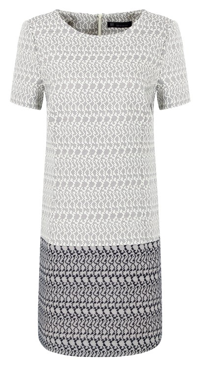 Best Of British - Dot Jacquard Dress