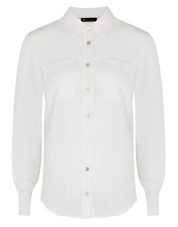 Best Of British - Ivory Silk Blouse