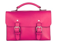 Best Of British - Magenta Satchel
