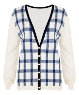 Best Of British - Checked Cardigan