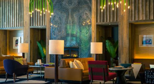 Hotel Palomar **** - Living Room