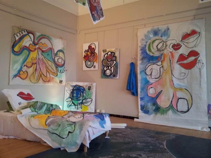 """Exposition """"Sens éveillés !"""" de Florence Lévy"""