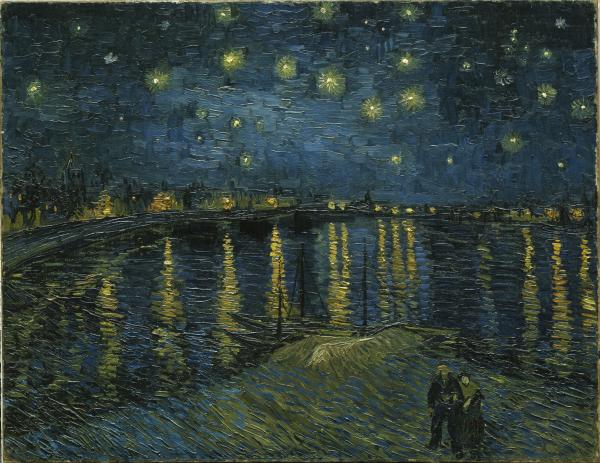 Van Gogh_Nuit étoilée