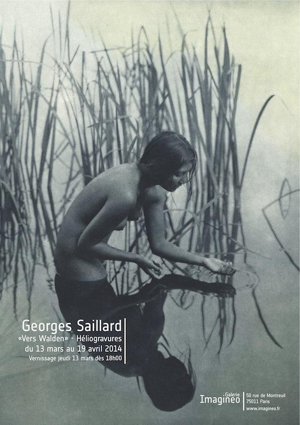 Georges Saillard   du 13 mars au 19 avril 2014 Vernissage jeudi 13 mars à partir de 18h00