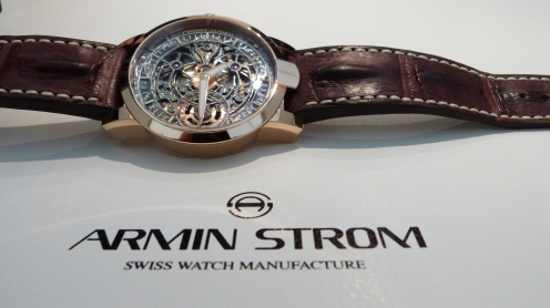 ONE WEEK SKELETON S - ARMIN STROM - BASELWORLD 2014