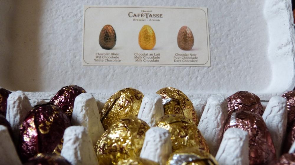Oeufs en Chocolats - Café-Tasse - ©Luxury-touch.com