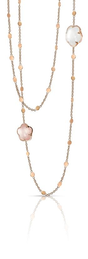 Bon Ton-neklace_milky and pink quartz