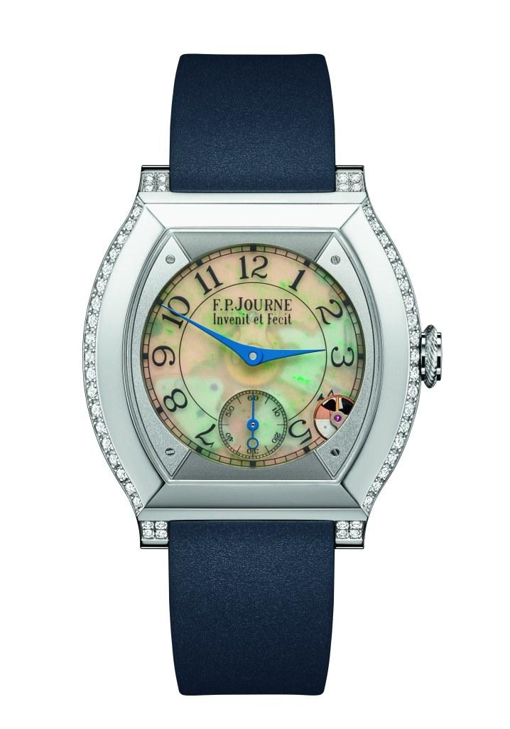 La montre commémorative femme « Elégante » avec cadran Jade - FP JOURNE