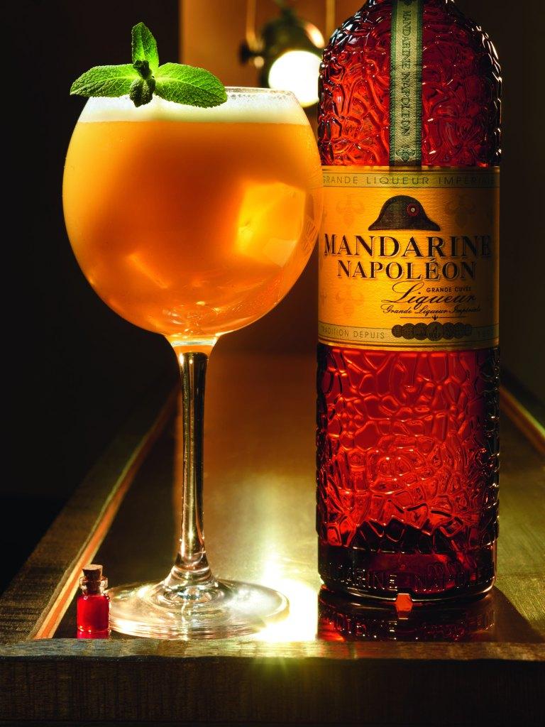 Mandarine Shakerato