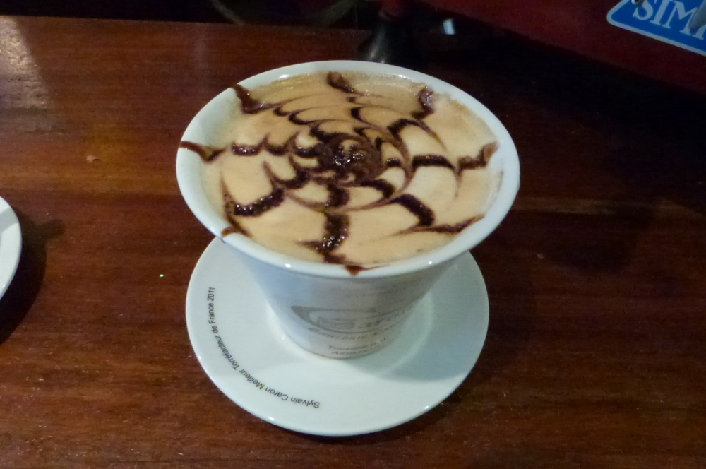 Cappuccino Caron - Restaurant Misia