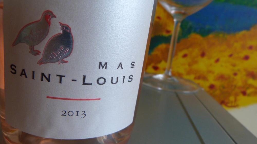 Mas Saint Louis Rosé 2013