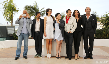 Equipe du film/Film cast - 21/05 | ADIEU AU LANGAGE (Goodbye to language)