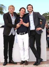 Jérémie Renier, Bertrand Bonello, Gaspard Ulliel - 17/05 | SAINT LAURENT