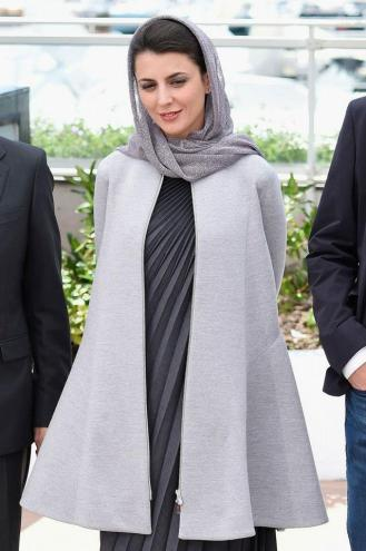 Leila Hatami wearing Dior.