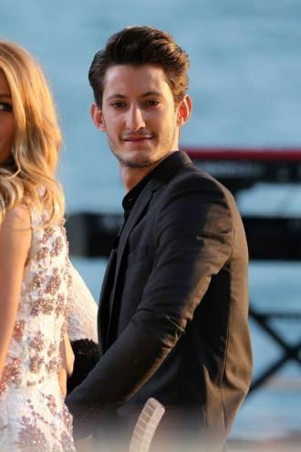 Pierre Niney wearing Dior Homme.