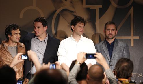 Mark Ruffalo, Channing Tatum, Bennett Miller, Steve Carell - 19/05   FOXCATCHER