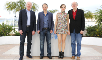 Jean-Pierre & Luc Dardenne with Marion Cotillard and Fabrizio Rongione - 20/05 | DEUX JOURS, UNE NUIT (Two days, One night)