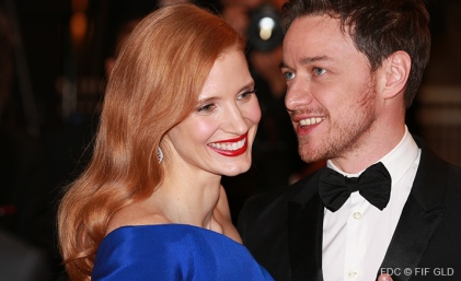 (Un Certain Regard) Jessica Chastain & James McAvoy - 17/05 | THE DISAPPEARANCE OF ELEANO RIGBY