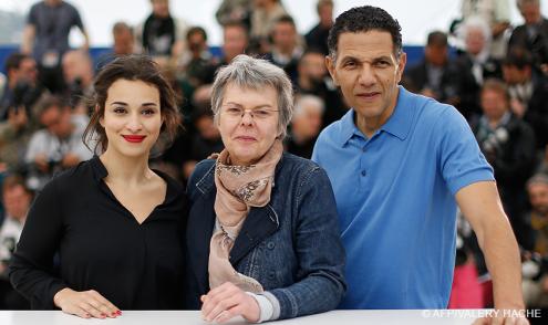 (Un Certain Regard) Camélia Jordana, Pascale Ferran, Roschdy Zem - 19/05   BIRD PEOPLE