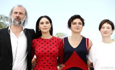 Sam Louwyck, Monica Bellucci, Alice Rohrwacher, Alba Rohrwacher - 18/05 | LE MERAVIGLIE