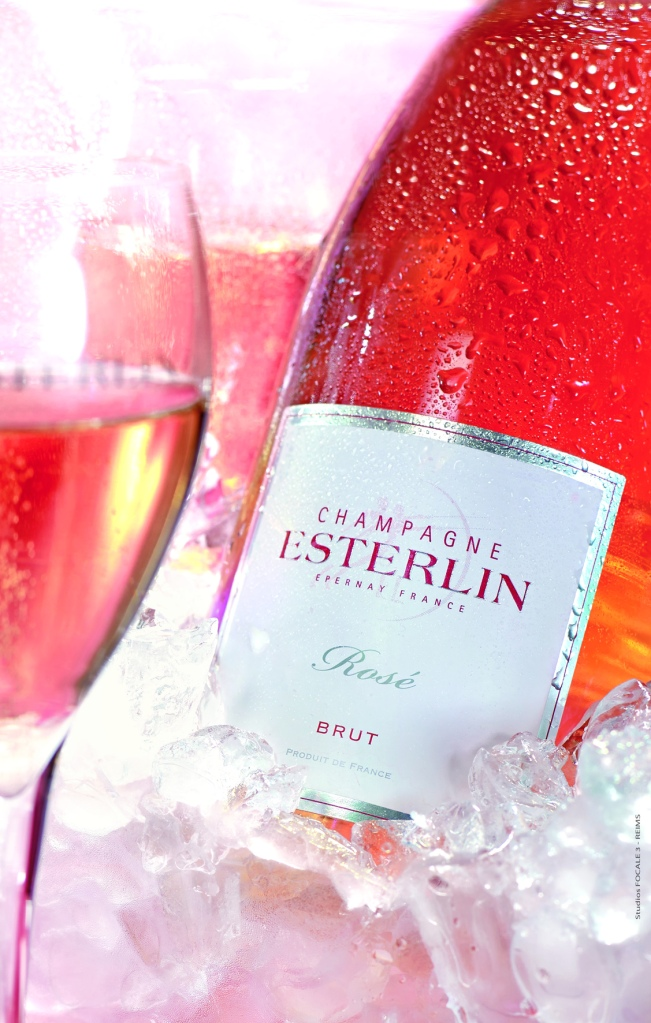 Coupe de Champagne Esterlin Rosé