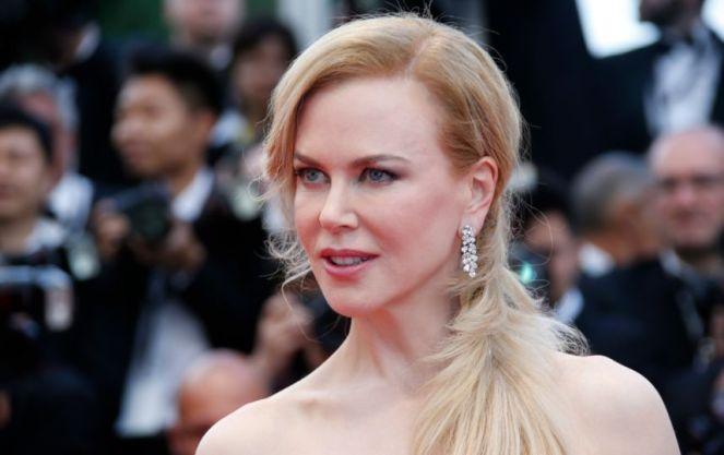 """Cannes 2014 - La montée des marches de """"Grace de Monaco"""" Nicole Kidman, à la projection du film """"Grace de Monaco"""". Photo : AFP"""
