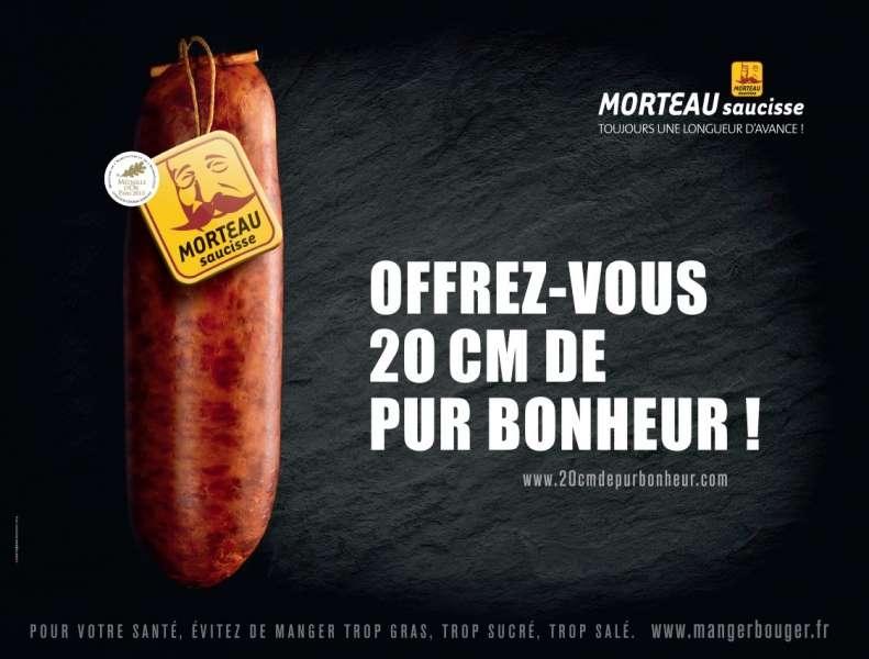 saucisse-morteau-publicité-affiche-marketing-viral-buzz-20-centimetres-de-bonheur-longueur-avance-agence-dartagnan-paris-métro