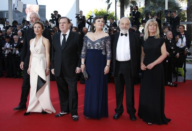 L'équipe du film Mr Turner