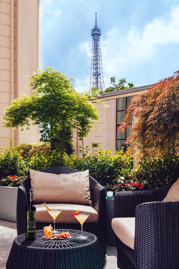 Terrasse d'été - Shangri La Hotel, Paris