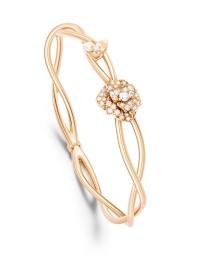 Collection Piaget Rose Bracelet en or rose 18 carats serti de 40 diamants taille brillant (env. 0.50 ct). G36U4000