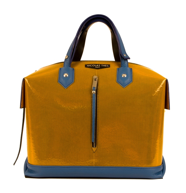 Nicolas Theil - Sac Nuclear blue yellow 2