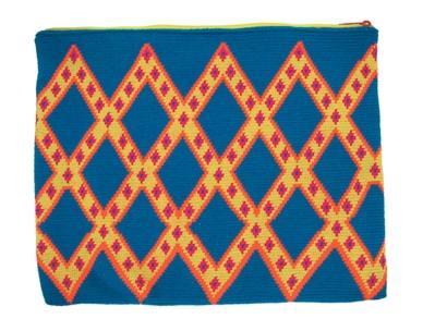 A.TYPIK Pochette pour ordi Mc Book - motifs géométriques