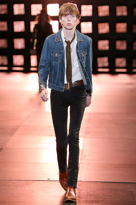 Homme Printemps Été 2015 - Saint Laurent