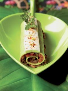 Caquelon de légumes en cannelloni (Produit Réception & Boutique)