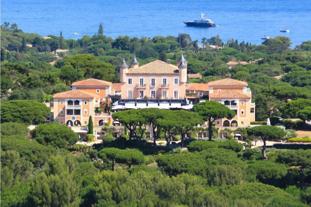 Trunk Show de la Maison Chopard   au Château de la Messardière à Saint-Tropez