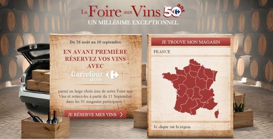 Foire aux Vins Carrefour 2014